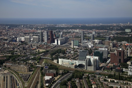 Bird's eye view of The Hague