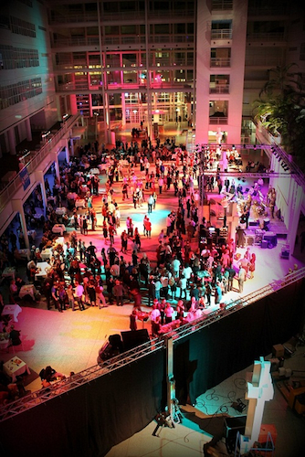 City Ball in the Atrium