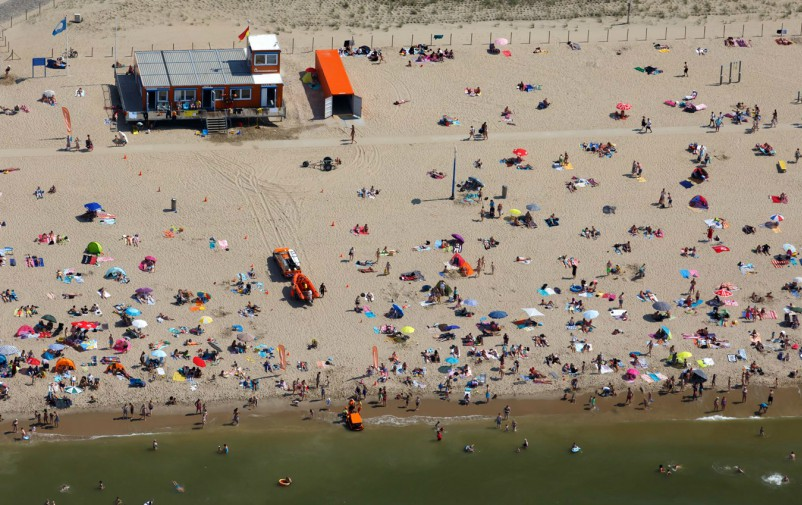 Kijkduin beach (Photo: Jurriaan Brobbel)