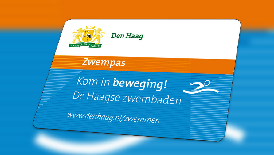 Swimming pass for The Hague