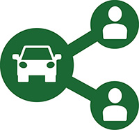 car sharing logo