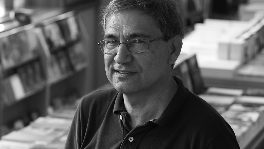 Author Orhan Pamuk at BorderKitchen
